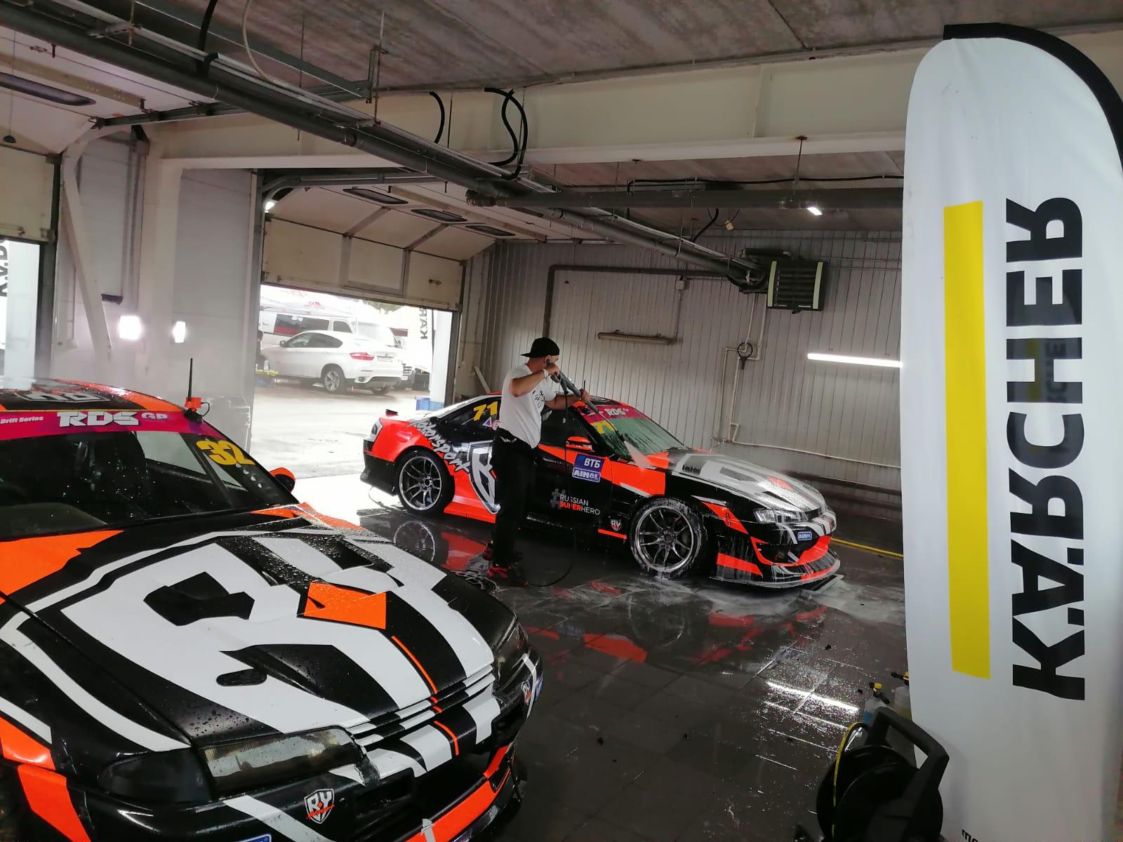 Скорость, мощь и драйв: «Керхер» – официальный технический партнер RDS GP